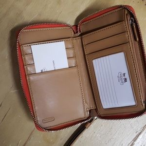 Coach Bags - COACH WALLET.  Never used. 6x4 inches